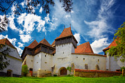 Romania Photos - Viscri Fortified Church by Gabriela Insuratelu