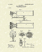 Device Drawings Framed Prints - Vision Apparatus 1903 Patent Art Framed Print by Prior Art Design