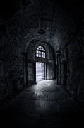 Derelict Framed Prints - Visions From The Dark Side Framed Print by Evelina Kremsdorf