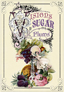 Banquet Digital Art Posters - Visions of sugar plums Poster by Cindy Garber Iverson