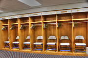 Visitors Clubhouse Prints - Visitors Print by David Bearden