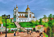 Siberia Digital Art - Vitebsk Cathedral 1 by Yury Malkov