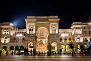 Italian Shopping Framed Prints - Vittorio Emanuele II Gallery Framed Print by Michal Bednarek