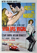 Musical Film Posters - Viva Las Vegas Poster by Nomad Art And  Design