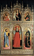 65-69 Years Posters - Vivarini Antonio, Polyptych Of St Poster by Everett