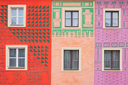 Adobe Buildings Prints - Vivid decorations Print by Michal Bednarek