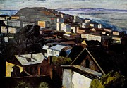 Impressionist Art Mixed Media - Vladivostok in 1964 by Jake Hartz