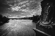 Charles Bridge Photo Acrylic Prints - Vltava Acrylic Print by Taylan Soyturk