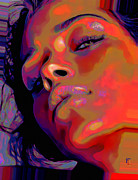 Black Art Digital Art - Vogue by Byron Fli Walker