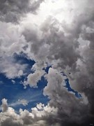 Cloudscape Digital Art Posters - Voices In The Sky Poster by Glenn McCarthy Art and Photography