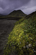 Volcano Prints - Volcanic cone in Fjallabak Natural Reserve Print by Ruben Vicente