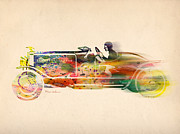Volkswagen Print by Mark Ashkenazi