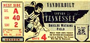 Vanderbilt Prints - Volunteer State Rivalry Print by Benjamin Yeager