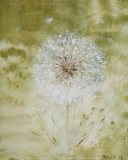 Pusteblume Paintings - Vorfreude by Bonita Stohl