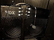 Vox Amp Print by Chris Berry