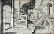 Science Source - Vredeman De Vriess Perspective 1604