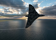 Rolls Royce Digital Art - Vulcan Break Away by Paul Heasman