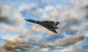 Avro Framed Prints - Vulcan Framed Print by Jason Green