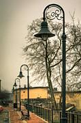 Vulcan Park Streetlamps Print by Shutter Happens Photography