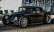 Purple Ford Photos - VW Bug by Ron Roberts