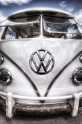 Vw Camper Van Posters - Vw Poster by Jason Green