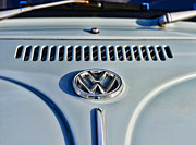 Vw Bug Prints - VW Volkswagen Bug Beetle Print by Paul Ward