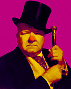 Tall Hat Prints - W C Fields 20130217 Print by Wingsdomain Art and Photography