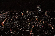 Wtc Digital Art Metal Prints - W T C 1989 Metal Print by Daniel Hagerman