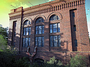 Spokane Prints - W W P Post Street Substation Print by Daniel Hagerman