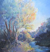 Waccamaw River Paintings - Waccamaw Morning by Sharon Sorrels