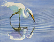 Sarah Buell  Dowling - Wading Egret