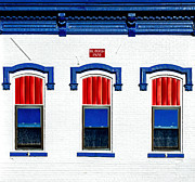 Vfw Posters - Wadsworth VFW Facade Poster by David Adams