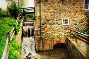 Grist Mill Art - Wagner Grist Mill by Paul Ward