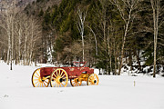 Wagon Wheels Originals - Wagon in the Snow by Gordon Ripley