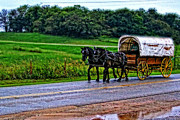 Carolyn Pettijohn - Wagon on the Chisholm...