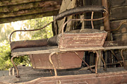 Wheel Photo Originals - Wagon seat by Tommy Hammarsten