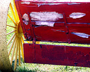 Tom Romeo Photo Posters - Wagon Poster by Tom Romeo