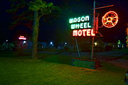 Motor Art - Wagon Wheel Motel by Utopia Concepts