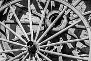 Wagon Photos - Wagon Wheels by  Onyonet  Photo Studios