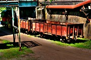 Steel Drum Digital Art - Wagons by Alexander Drum