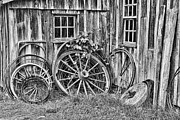 Wagon Wheels Photo Posters - Wagons Lost Poster by Crystal Nederman
