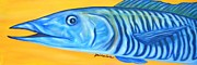Wahoo Painting Prints - Wahoo Print by JoAnn Wheeler