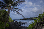 Brad Scott Prints - Waianapanapa Lookout Print by Brad Scott