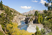 Ferry Photos - Waiau River Hanmer Springs New Zealand by Colin and Linda McKie