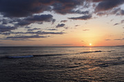 Seascapes - Waikiki Sunset by Brandon Tabiolo