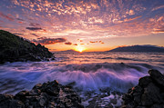 Wailea Glow Print by Hawaii  Fine Art Photography