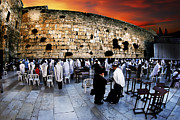 Digitally Generated Image Photos - Wailing Wall Old City Jerusalem by Dan Yeger