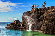 Eric Evans - Waimea Bay Rock Jumpers
