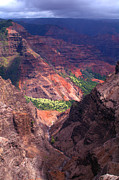 Travel Photography Prints - Waimea Canyon 3 Print by Brian Harig