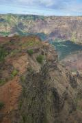 Featured Prints - Waimea Canyon Aerial Print by Kicka Witte